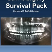 book cover jaw surgery survival pack jaw surgery kit orthognathic surgery patient help blog