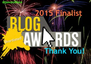 UK Blog Awards 2015 - Stefanie Grant Orthognathic Surgery Shortlisted Logo